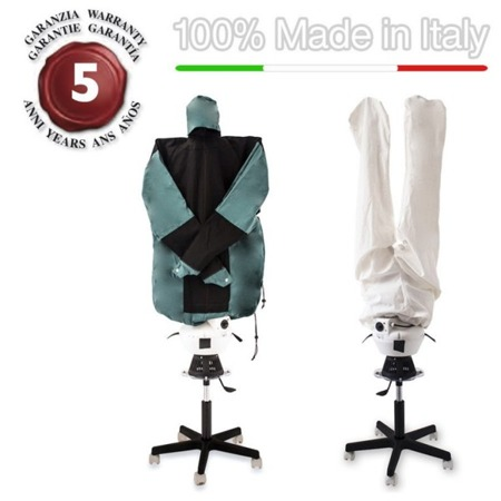 EOLO SA05 PROFESSIONAL, dummy drying and Ironing automatically shirts blouses pants Irondryer