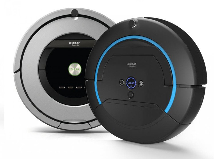 zestaw robot odkurzacz i robot roomba 886 robot myj cy scooba 450 roboty odkurzacze i robot. Black Bedroom Furniture Sets. Home Design Ideas
