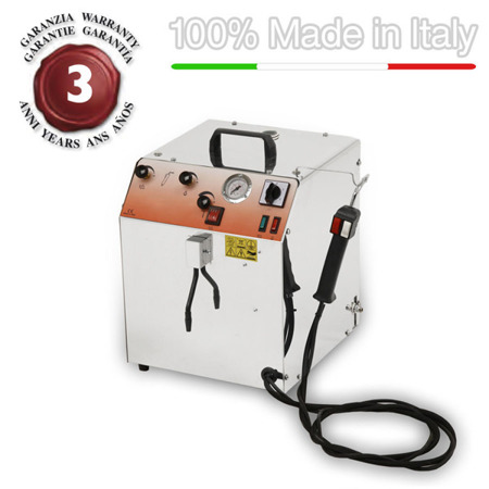 Steam generator vapor cleaning and sanitizing medical laboratory EOLO LP02 CRA