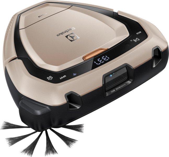 electrolux pure i9. robot odkurzacz electrolux pi91-5ssm pure i9 wifi złoty pure -
