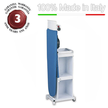Professional ironing board HEATED surface, vacuuming and blowing motor EOLO TS05