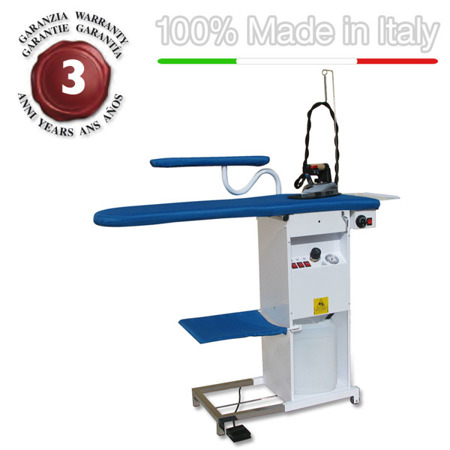 Professional ironing board thermoaspirating, blowing motor,copper boiler TS04RA